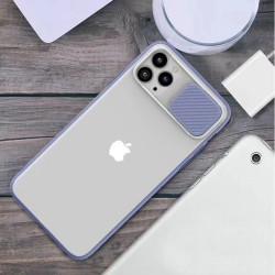 """Slide Camera Lens Protection Phone Cases Soft Clear TPU Shockproof Back Cover For iPhone 11 PRO Max 6.5"""""""