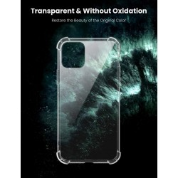 """Bumper Shell Soft TPU Silicone Clear Transparent Cover Shockproof for Apple iphone 11 6.1"""" (2019)"""