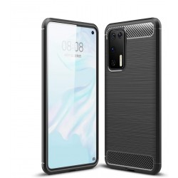 Huawei P40 Case, Slim Fit Ultra-Thin Case Soft TPU Non-Slip Bumper Protection Cover [Scratch Resistant] with Shock-Absorption Cases for Huawei P40