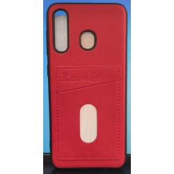 Back Phone Case with Dual Card Holder Slot For Samsung Galaxy A20