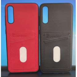 Back Phone Case with Dual Card Holder Slot For Samsung Galaxy A70