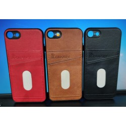 Back Phone Case with Dual Card Holder Slot For Apple iPhone 7