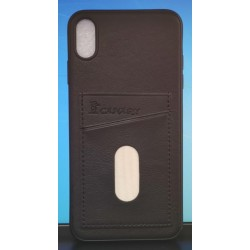 "Back Phone Case with Dual Card Holder Slot For Apple iPhone Xs Max 6.5"" (2018)"
