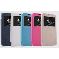 Huawei Ascend G600 Nillkin Sparkle Series PU Leather Case