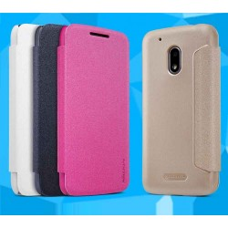 MOTO G4 Play Nillkin Sparkle Series PU Leather Case