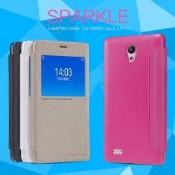 OPPO A11 JOY3 Nillkin Sparkle Series PU Leather Case