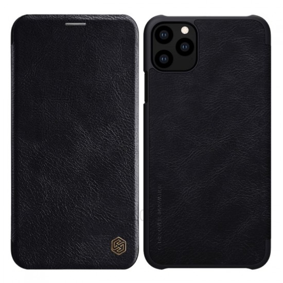 "Apple iPhone 11 Pro Max 6.5"" (2019) Nillkin Qin Series Leather case"