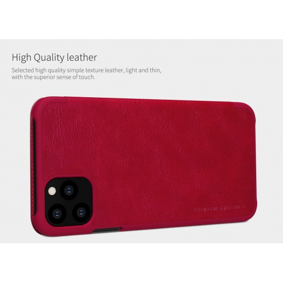 """Apple iPhone 11 Pro Max 2019 6.5"""" Nillkin Qin Series Leather case"""