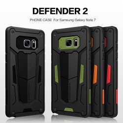 Samsung Galaxy Note FE  [ FAN Edition ] Nillkin Armor-Border Case Bumper Defender Case