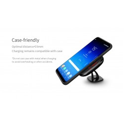 NILLKIN Car Magnetic-II Wireless Charger Fast charge with Carbon Fiber Material C Model