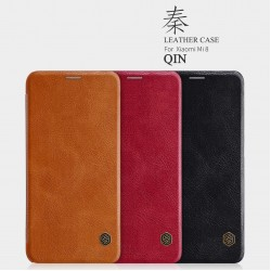 XIAOMI Mi 8 Nillkin Qin Series Leather case