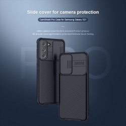 """Nillkin CamShield Pro Case with Slide Camera Cover, Slim Stylish Protective Case for Samsung Galaxy S21 [6.2"""" 2021]"""