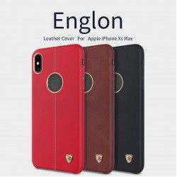 "Nillkin Apple iPhone XS MAX 6.5"" (2018) Englon Leather Cover"