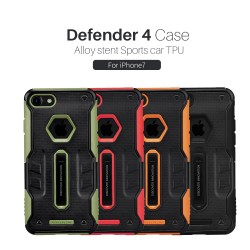 """NILLKIN Defender 4 Case Alloy Stent Sports Car TPU Case For iPhone 7 4.7"""" (2016)"""