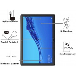Tablet Tempered Glass 9H Anti-Scratch Anti-Fingerprint For Huawei Honor Pad 5 10.1inch