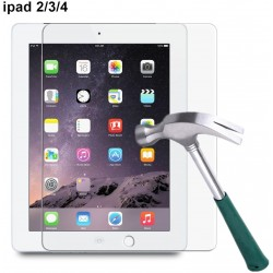 Tablet Tempered Glass 9H Anti-Scratch Anti-Fingerprint FOR APPLE IPAD3